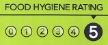 We have consistently high Food Hygiene Ratings